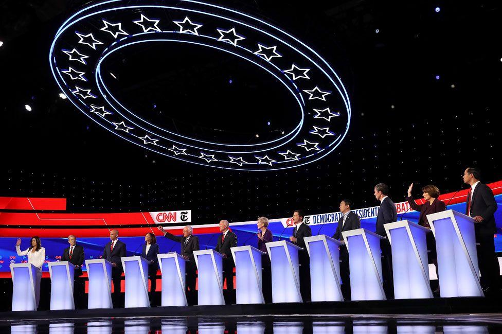 Democratic contenders