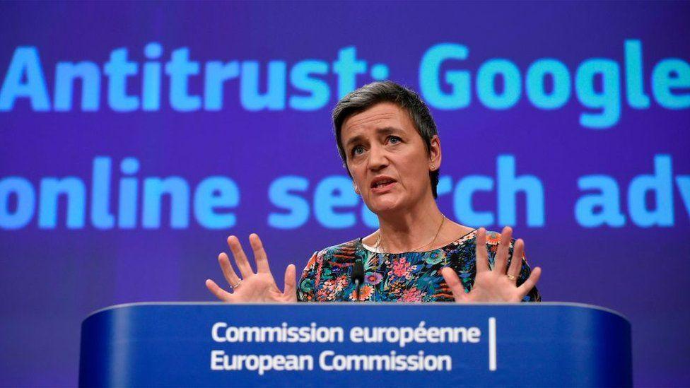 EU Commissioner of Competition Margrethe Vestager