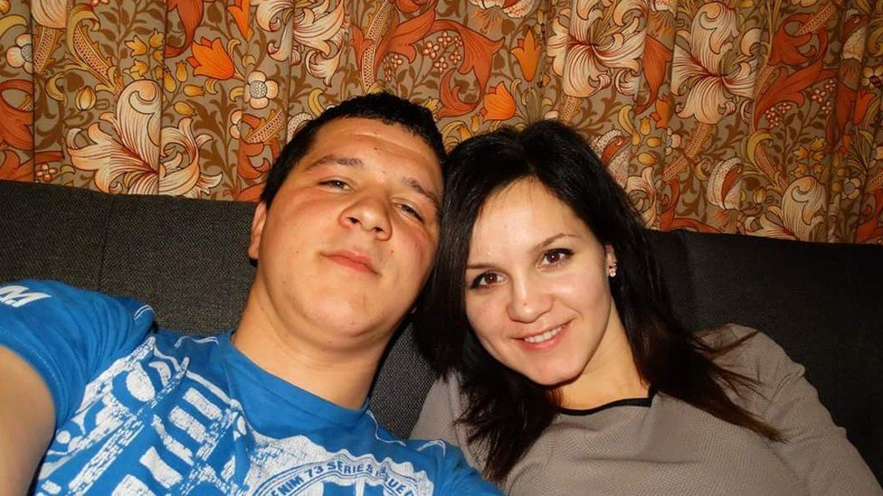 Razvan Milea and Cristina Magda-Calancea