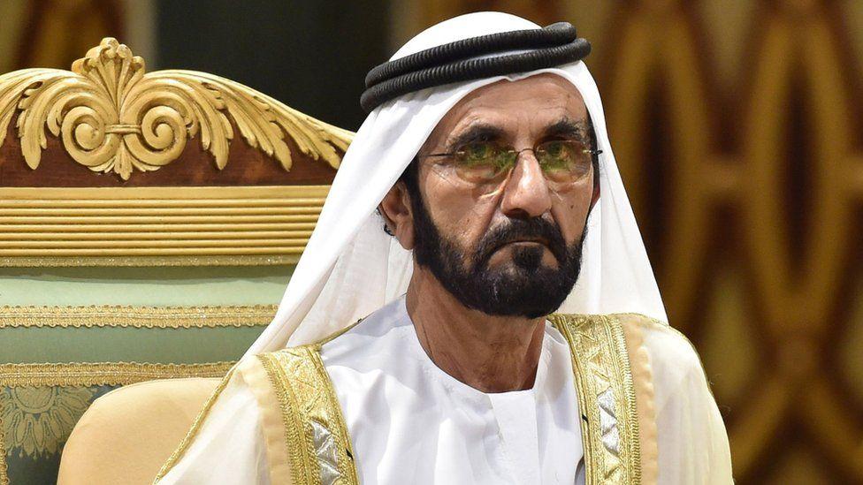 The ruler of the Emirate of Dubai, Sheikh Mohammad bin Rashid Al Maktoum. (AFP)