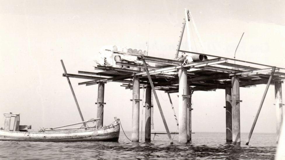 The original Rose Island structure