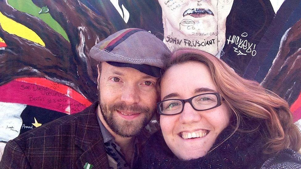Simon Thomson and Jenny Fawson
