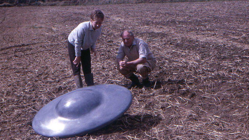 'Flying saucer' in Chippenham