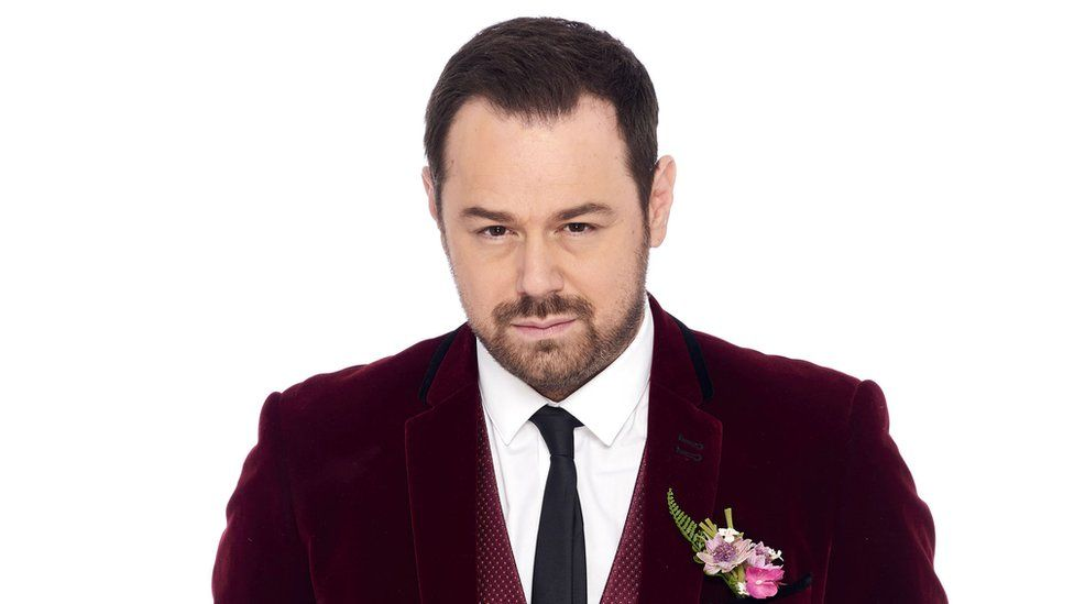 Danny Dyer as his Eastenders character Mick Carter