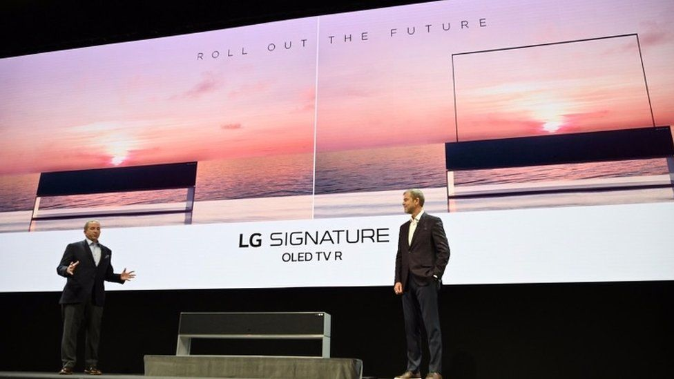 LG rollout TV