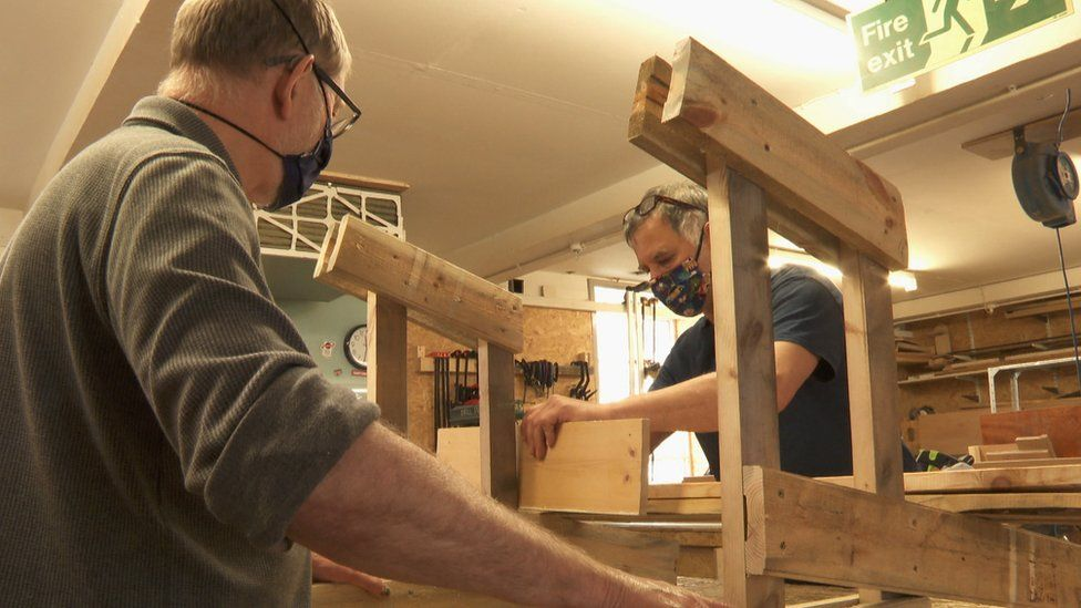 Leith men's shed
