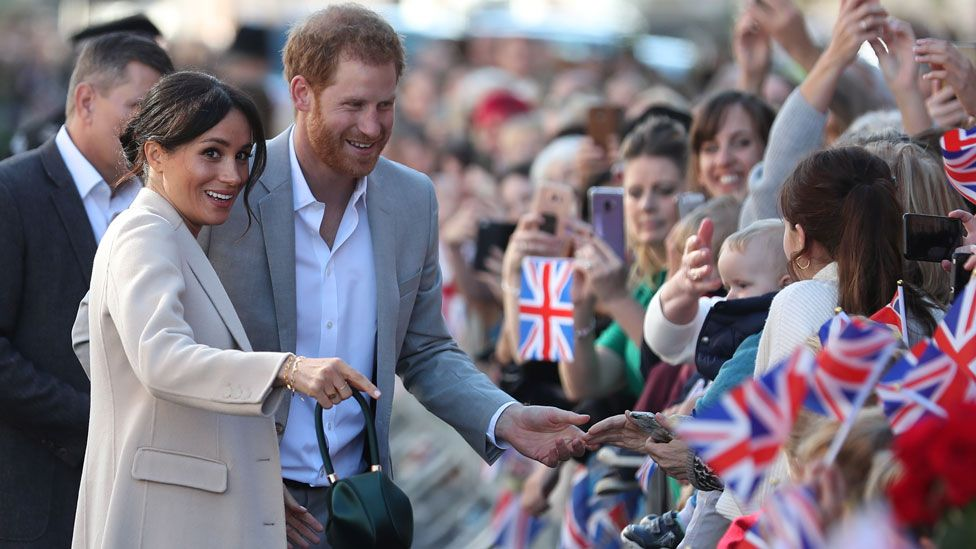 Harry and Meghan in Chichester