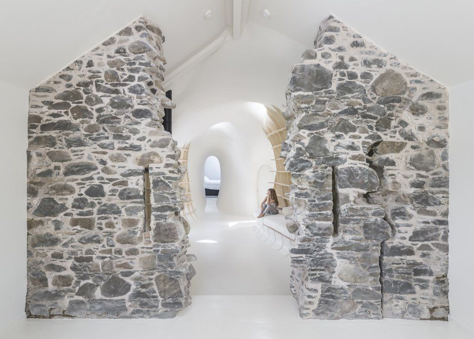 """Ruins Studio, Dumfries - """"This rural """"refuge"""" rises from the ruins of a 19th century farm"""""""