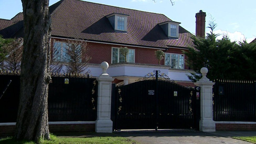 Mansion at The Bishops Avenue, North London