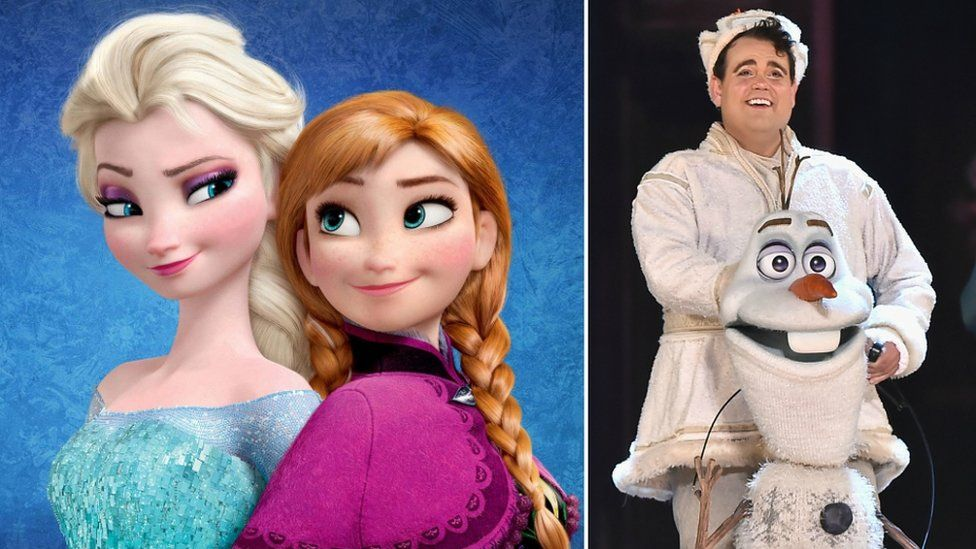 Characters from Disney's Frozen