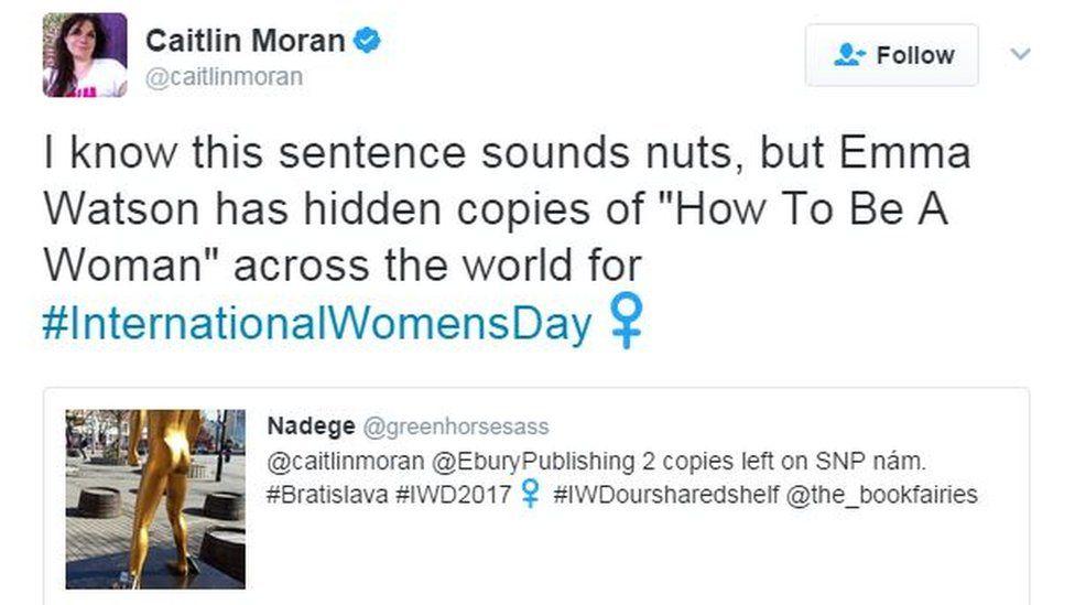 Caitlyn Moran's tweet
