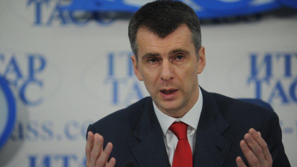 Mikhail Prokhorov - 21 Dec 12