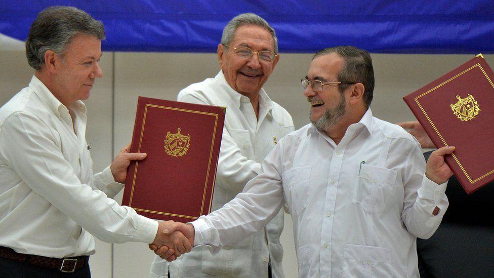 لاطینی امریکہ میں طویل ترین خانہ جنگی کا اختتام