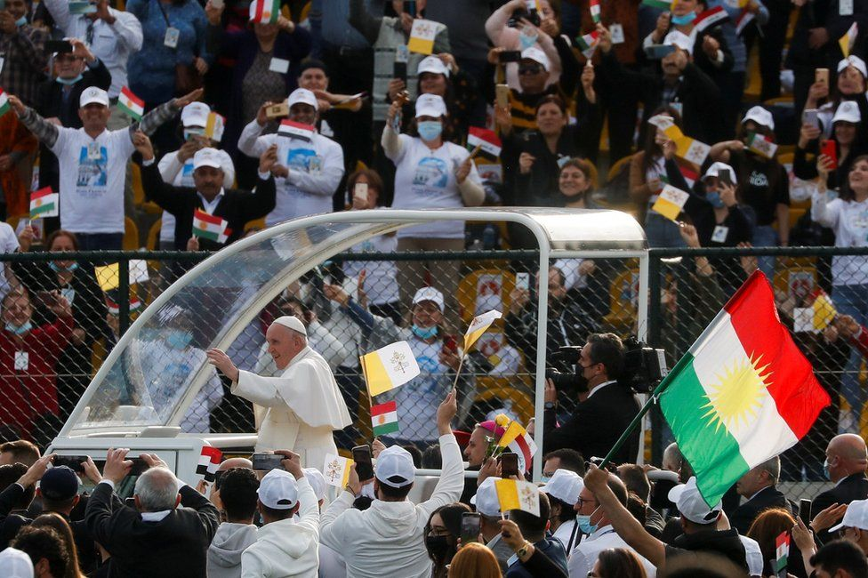 The Pope in Irbil, 7 March