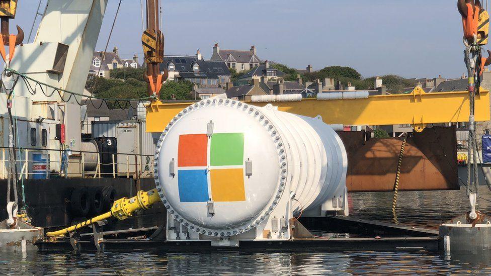 Microsoft data centre