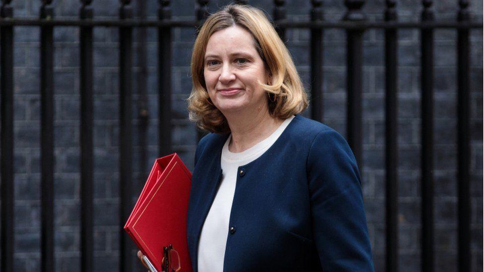 Amber Rudd as home secretary