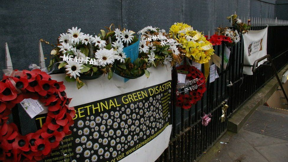 Anniversary commemorations of Bethnal Green Tube Disaster