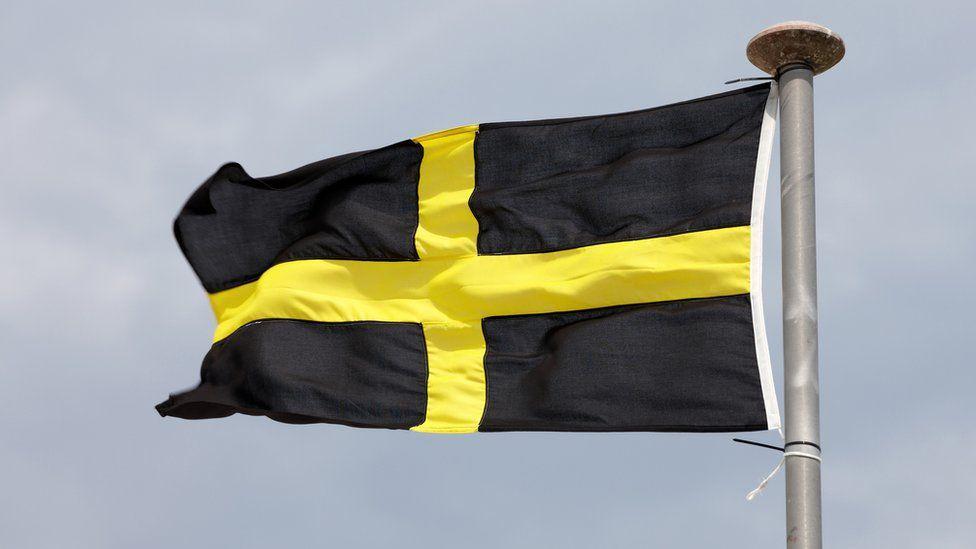 flag of St David