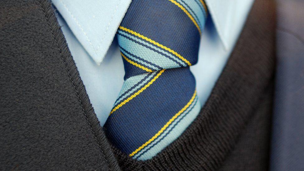 UK School uniform tie