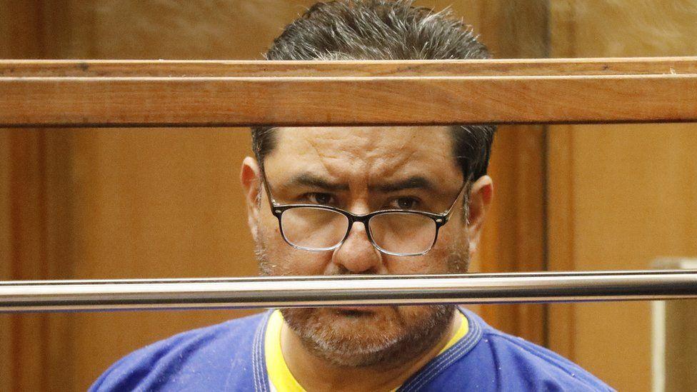Naason Joaquin Garcia, the leader of a Mexico-based church La Luz del Mundo church, appears in court