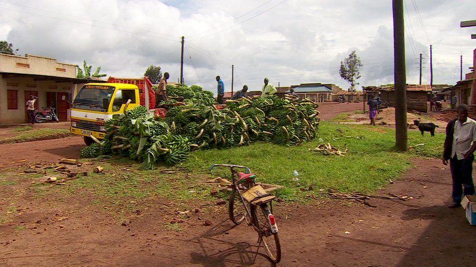 Ruhiira village in Uganda