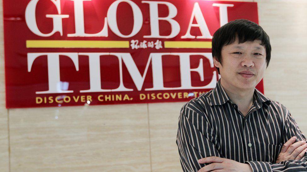 Hu Xijin, editor of the Global Times