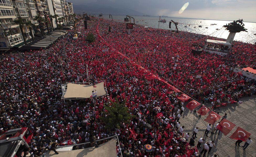 Ince CHP rally in Izmir, 21 Jun 18
