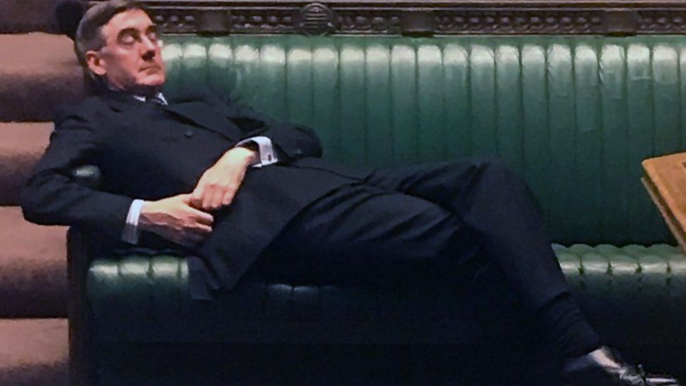 Jacob Rees-Mogg in Commons
