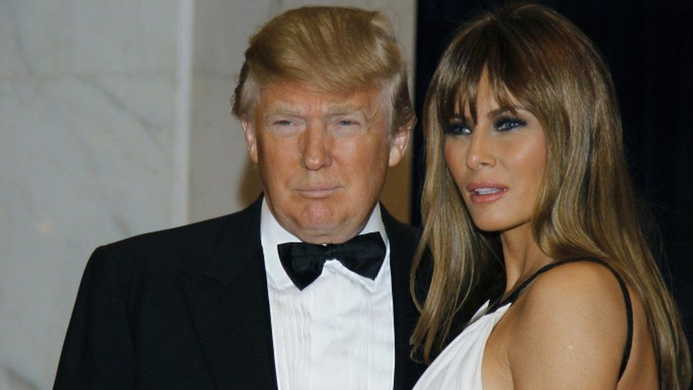 Donald and Melania Trump at the 2011 event