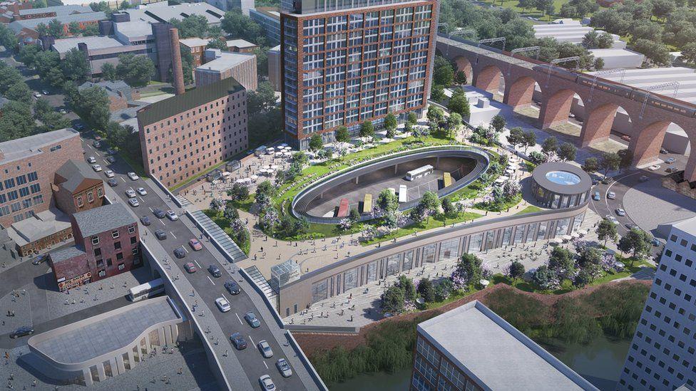 Stockport Interchange plans