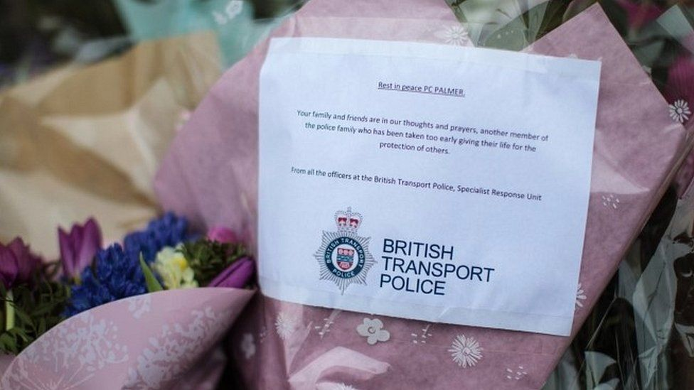 BTP tribute to PC Palmer