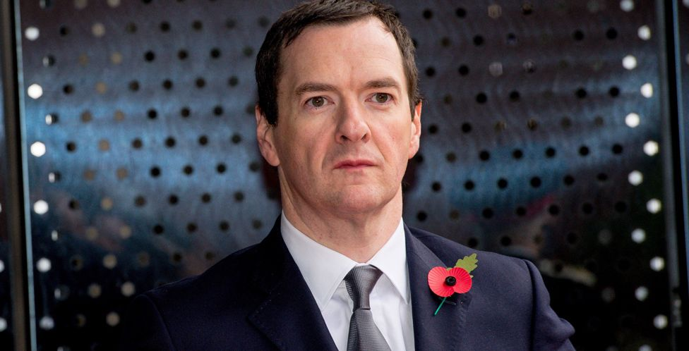 George Osborne after the Lords vote
