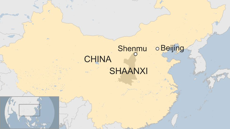 Chinese coal mine roof collapse in Shaanxi kills 21
