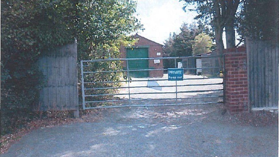 The yard in North Stifford