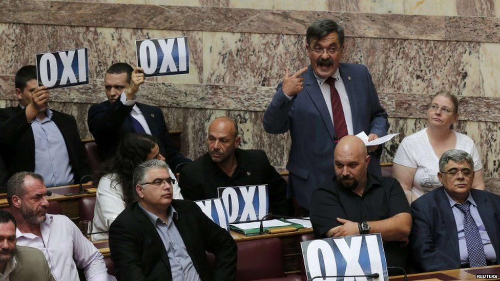Greek parliament vote, 11 July