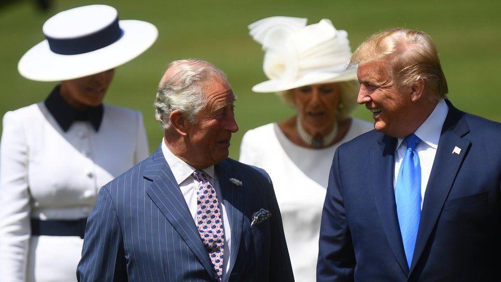 Трамп и принц Чарльз