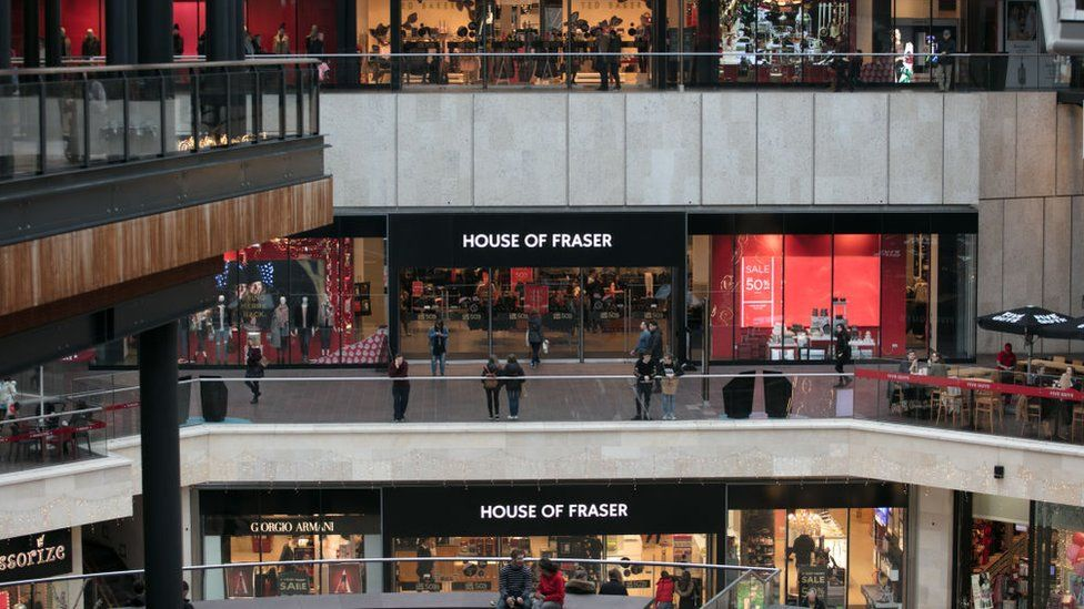 77fd1d8582387 Why we no longer love department stores - BBC News