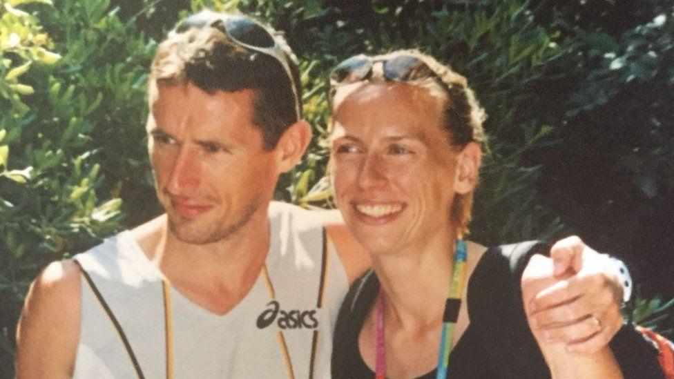 Gary Crossan and his wife, Maria McCambridge