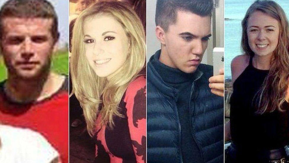(L to r) Daniel Thorpe, Vicky Balch, Joe Pugh, Leah Washington