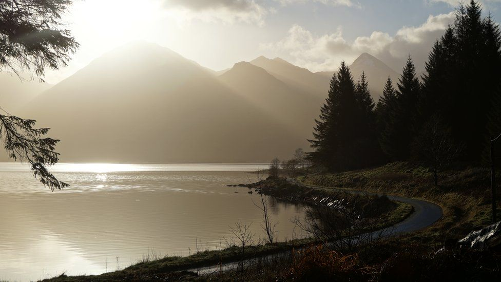 Kintail mountains