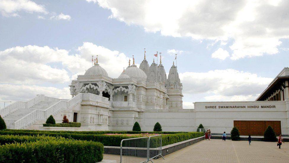 The BAPS Shri Swaminarayan Mandir
