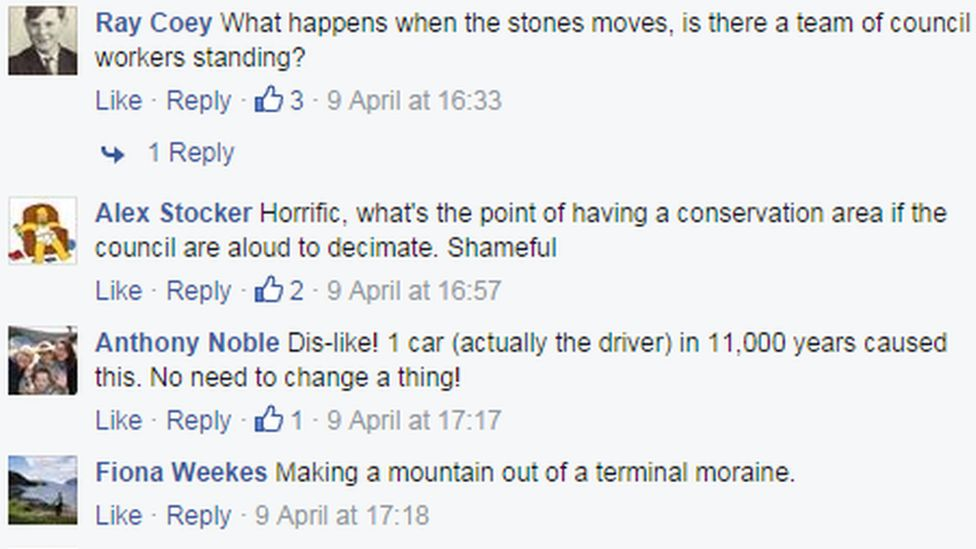 Comments on Soulbury News Facebook page