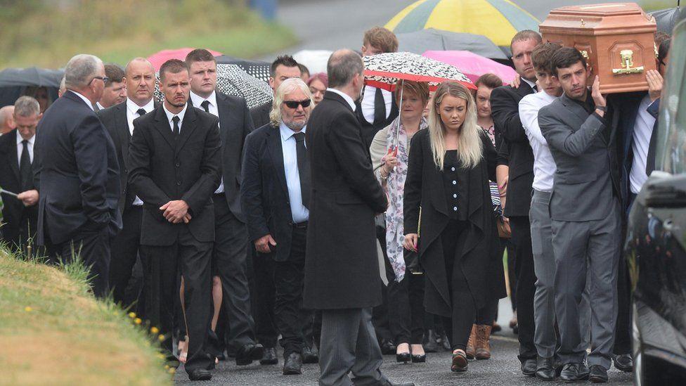 William Dunlop funeral