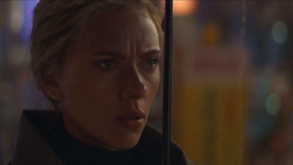 Scarlett Johansson in Avengers: Endgame
