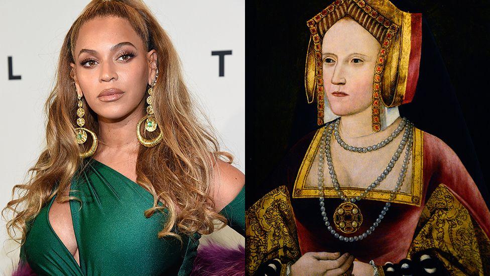 Beyonce and Catherine of Aragon