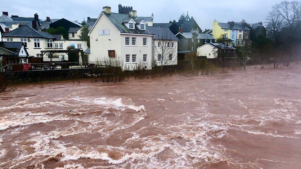 River Usk in Brecon