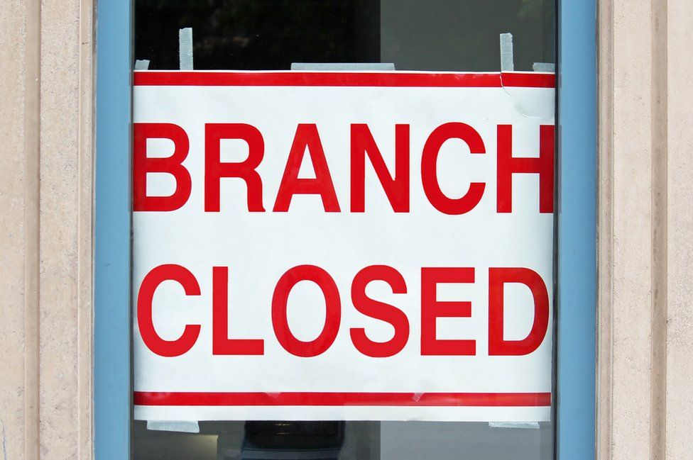 Branch closed sign