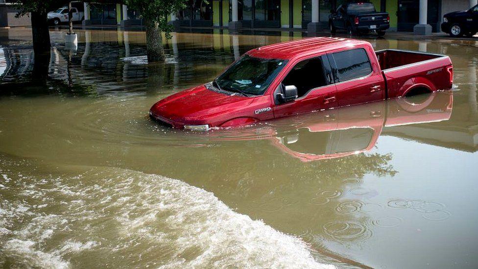 Aftermath of Hurricane Harvey
