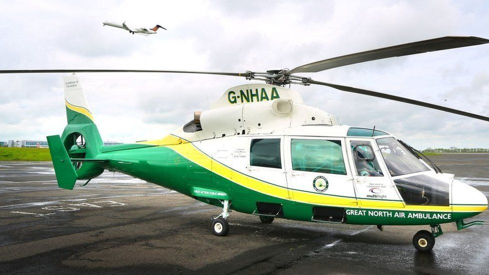 GNAAS helicopter