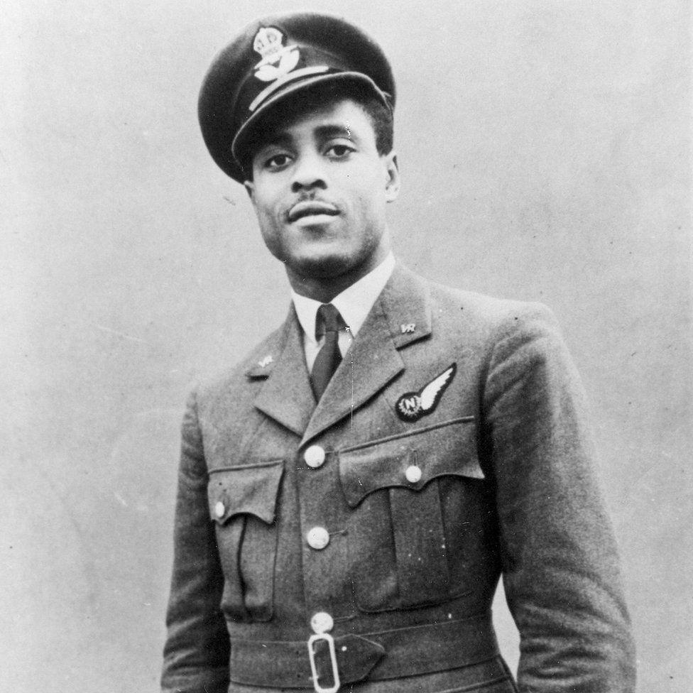 John Henry Smythe OBE in uniform